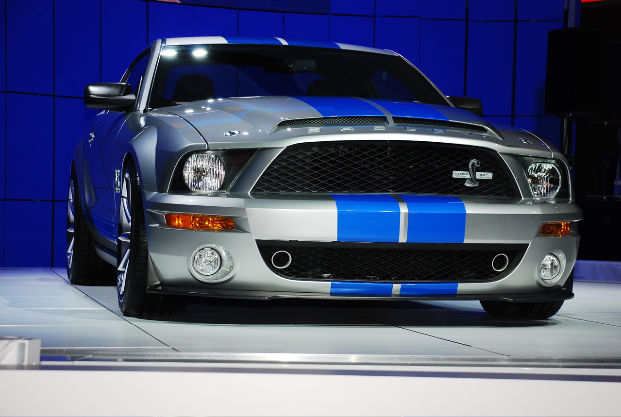 Tungsten Grey Mustang With Blue Stripes Mustang Forums