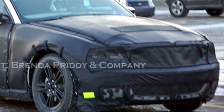 Spy Shots: 2010 Ford Mustang