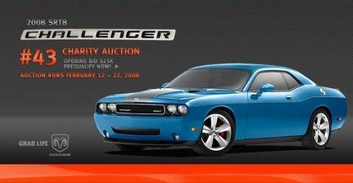 Ebay: Nr.43 vom 2008 Dodge Challenger SRT8 in ?Petty blue?