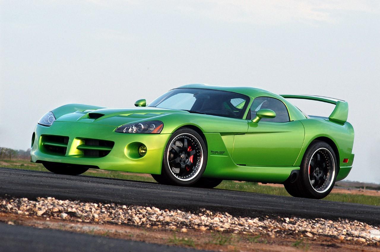 Für den bieten Hennessey jetzt eine Venom 1000 Twin-Turbo ...