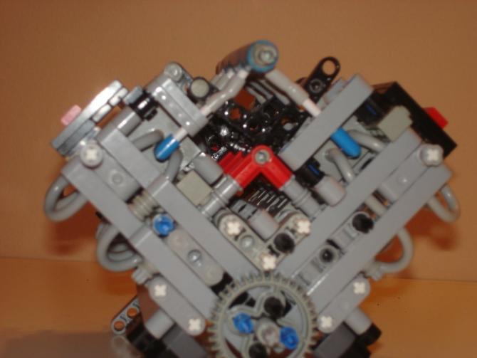 Der Lego V8 Motor Muscle Cars