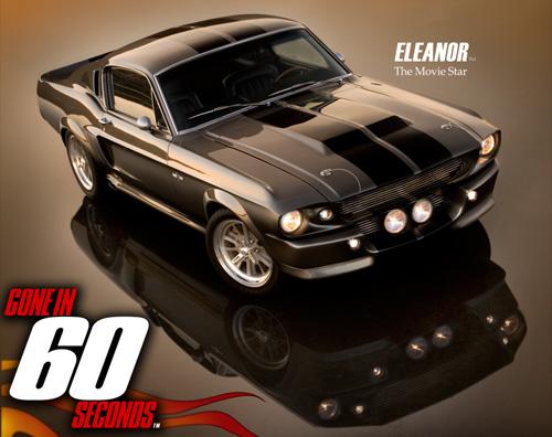 Der erste offiziell lizensierte Eleanor Mustang geht nach Russland
