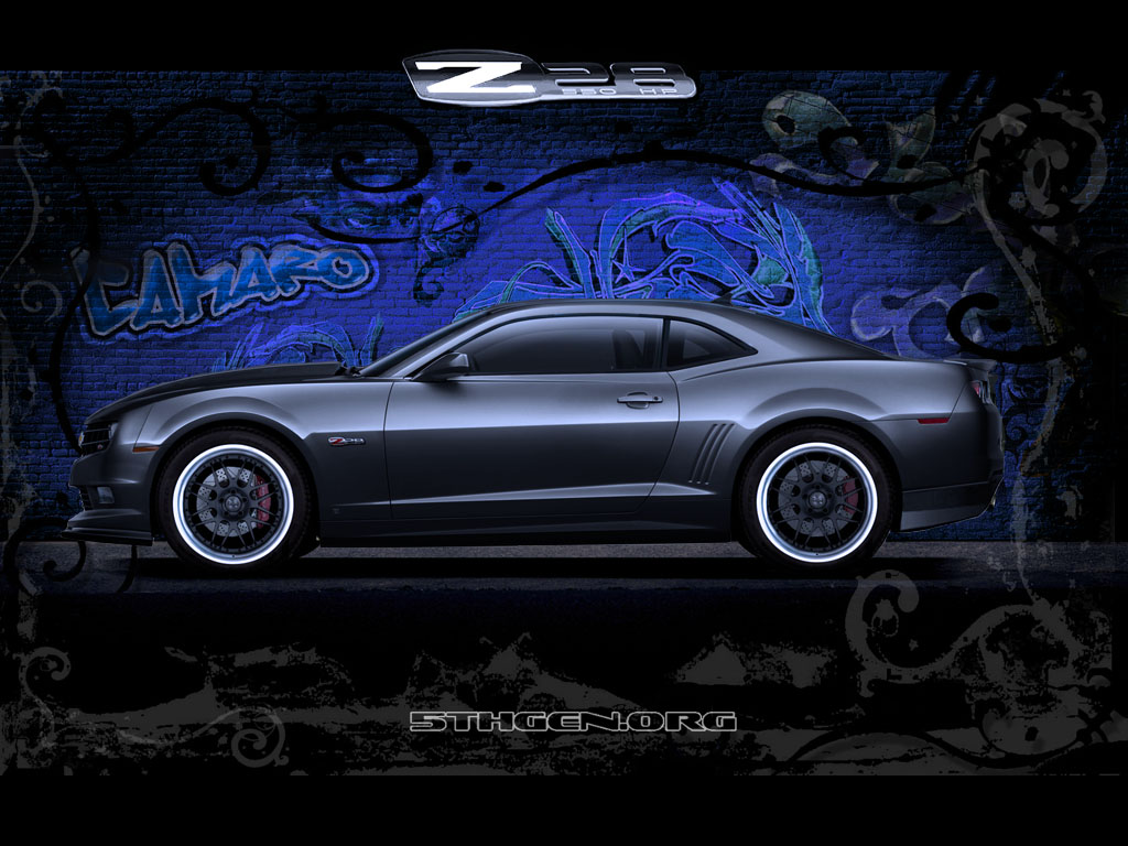 2010 Chevrolet Camaro Z28 Renderings Muscle Cars