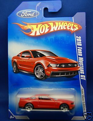 2010 hot wheels ford mustang gt | muscle cars | der amerikanische