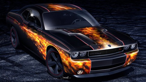 "Dodge Challenger R/T ""Fired Up"""