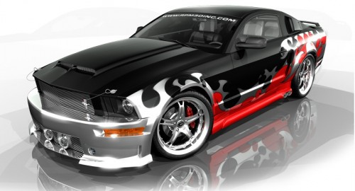 RPM 3D - Ford Mustang Design Contest