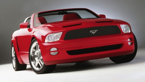 Mustang GT Convertible Concept