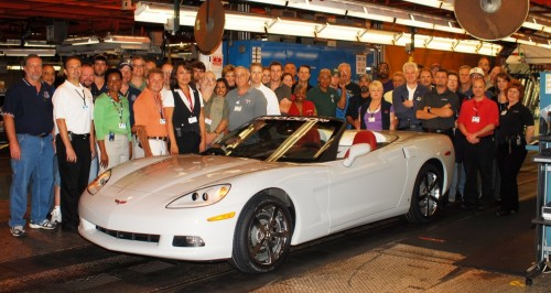 The 1.5 millionth Corvette: 2009 Corvette Convertible