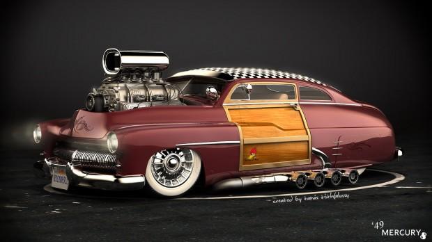 Tottarie - 1949 mercury 8