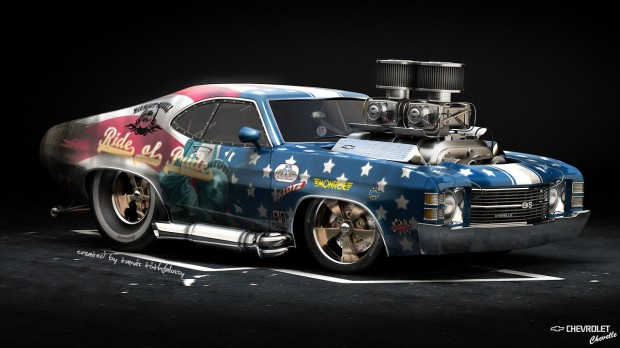 Tottarie - Ride of Pride - 1971 Chevelle