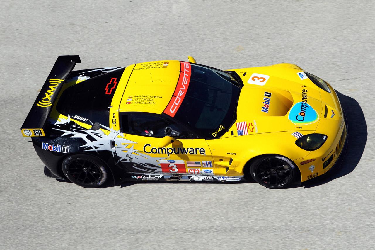 2010 ALMS Corvette C6.