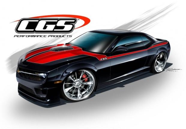 SEMA 2010: CGS Motorsports baut custom 2011 Chevrolet Camaro